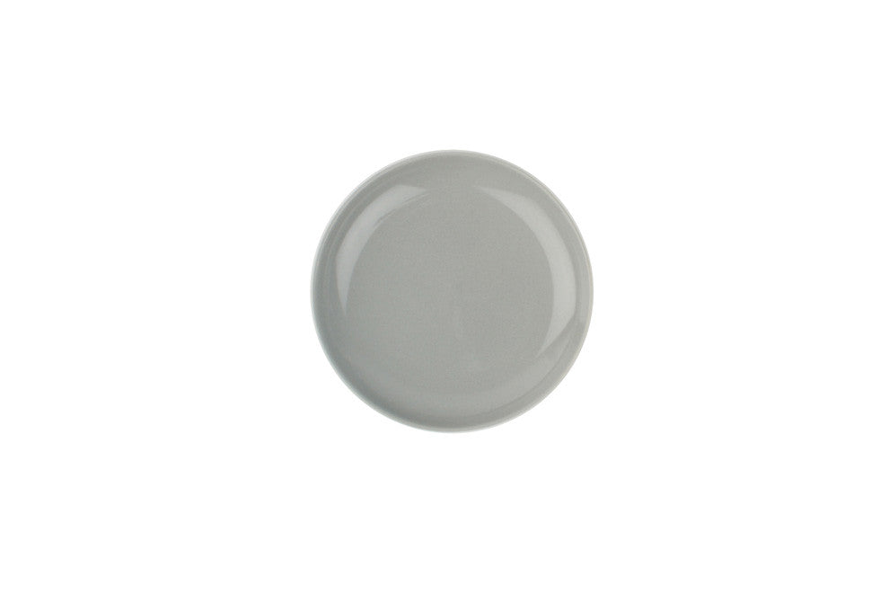 Shell Bisque Tidbit Plate in Grey - Set of 4