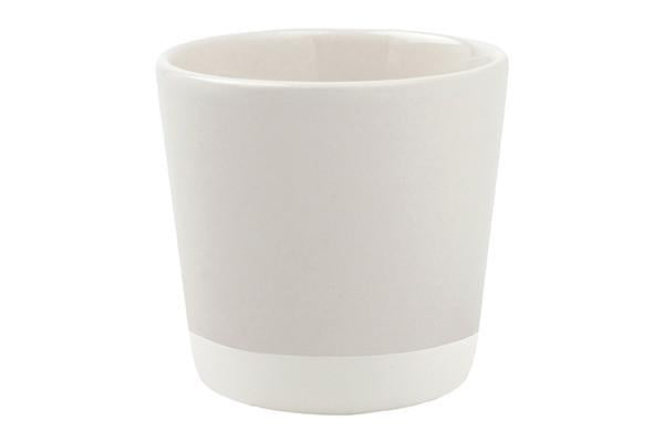 Shell Bisque Votive White - Canvas Home
