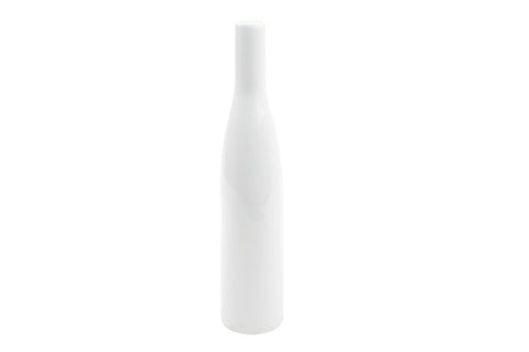 Morandi Small Bottle Vase in Grey
