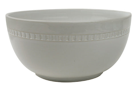Ciara Serving Bowl in White