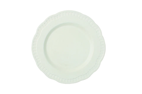 Ciara Salad Plate in White