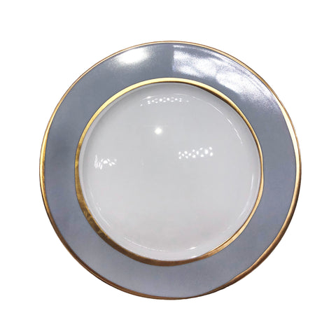 La Vienne Dinner Plate in Blue - Set of 4