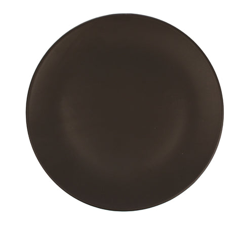 Salamanca Salad Plate in Black - Set of 4