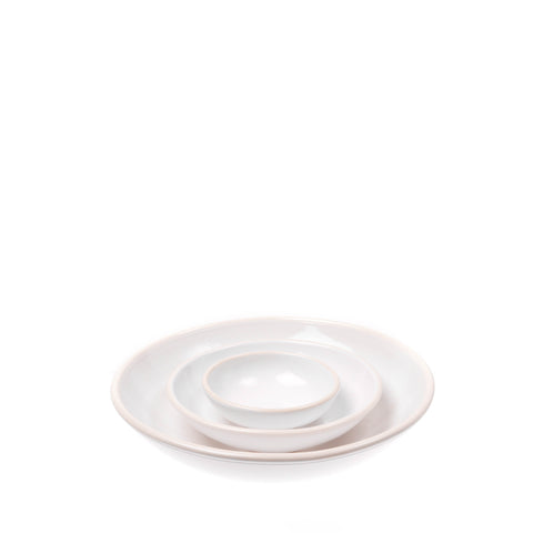 Gerona Small Nesting Bowl in White