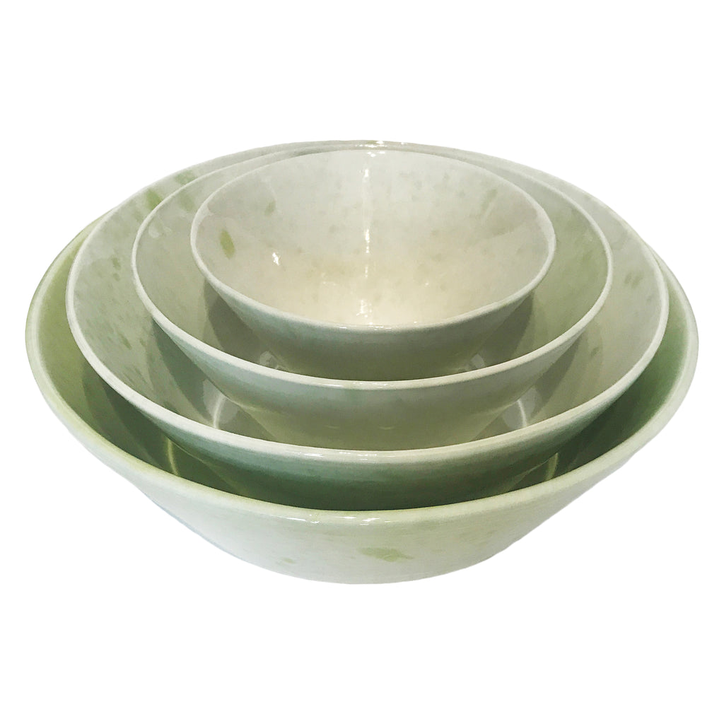 Gerona Straight Side Bowl - Extra Large - Green