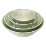 Gerona Straight Side Bowl - Medium - Green - Set of 2