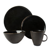 Abbesses Noir 4-piece place setting