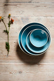 Gerona Straight Side Bowl - Extra Large - Blue