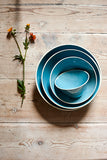 Gerona Straight Side Bowl - Large - Blue