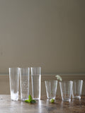 Sienna Linear Etched Wine Glasses - Set of 6