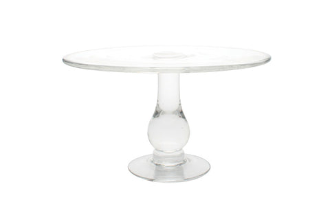 Small Glass Cake Stand