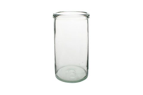 Recycled Large Cylinder Glass