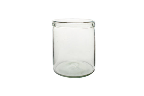 Recycled Medium Cylinder Glass