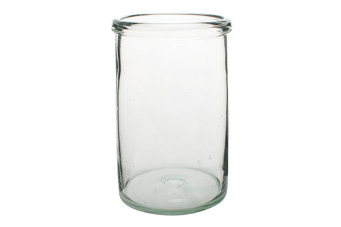 Recycled Extra Large Cylinder Glass
