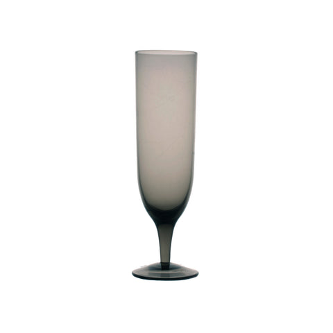 Sienna Etched Champagne Glasses - Set of 6