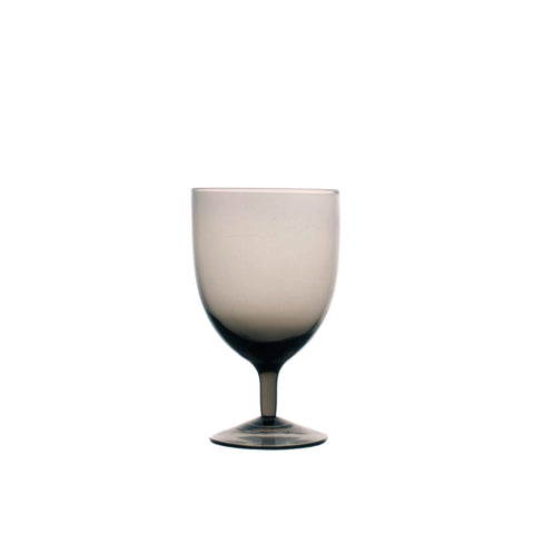 Amwell Red Wine Glass; Smoke