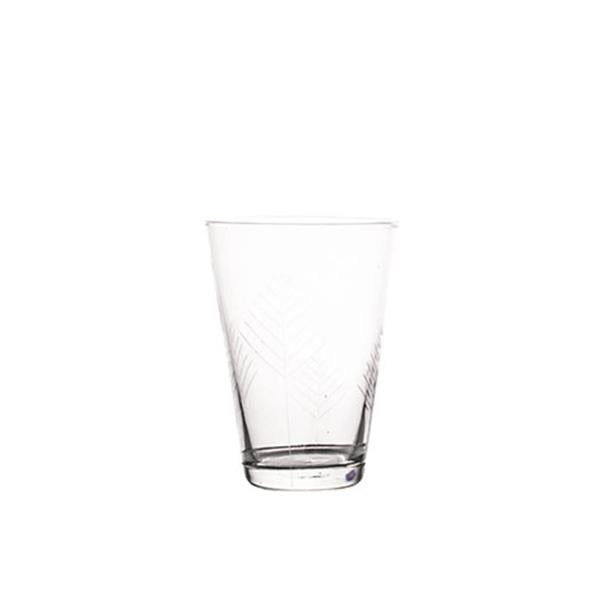 Sienna Linear Etched Water Glasses - Set of 6