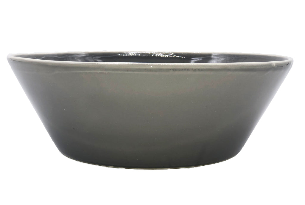 Gerona Straight Side Bowl - Large - Mud