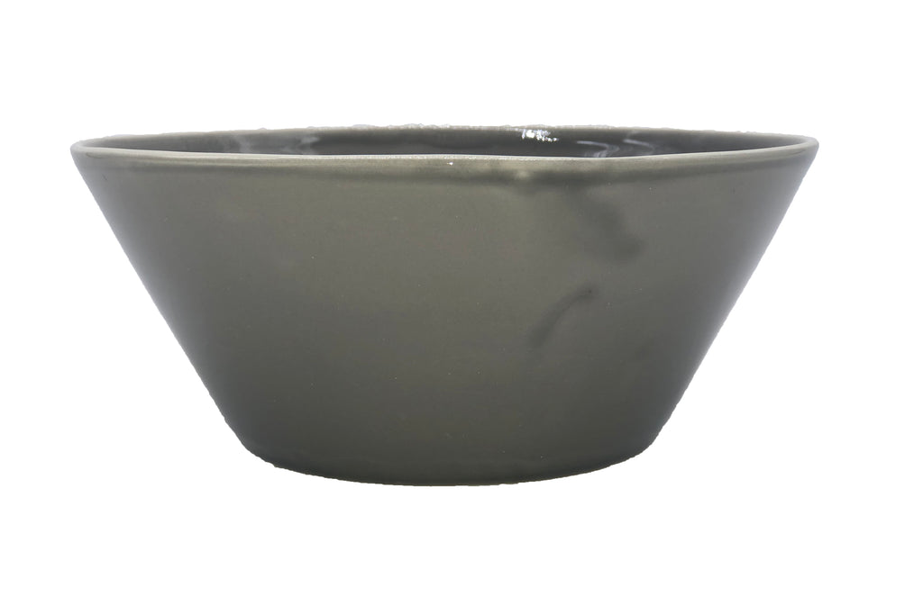 Gerona Straight Side Bowl - Medium - Mud - Set of 2