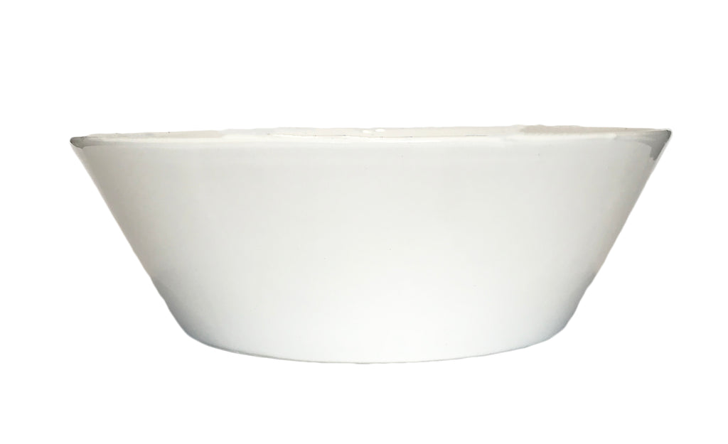 Gerona Straight Side Bowl - Extra Large - White
