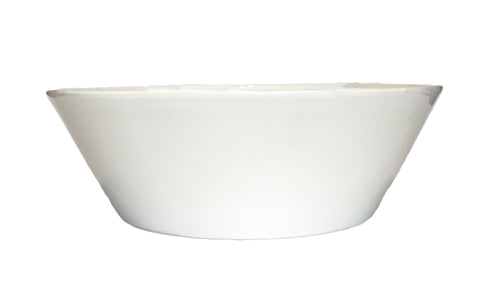 Gerona Straight Side Bowl - Large - White