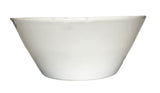 Gerona Straight Side Bowl - Medium - White - Set of 2