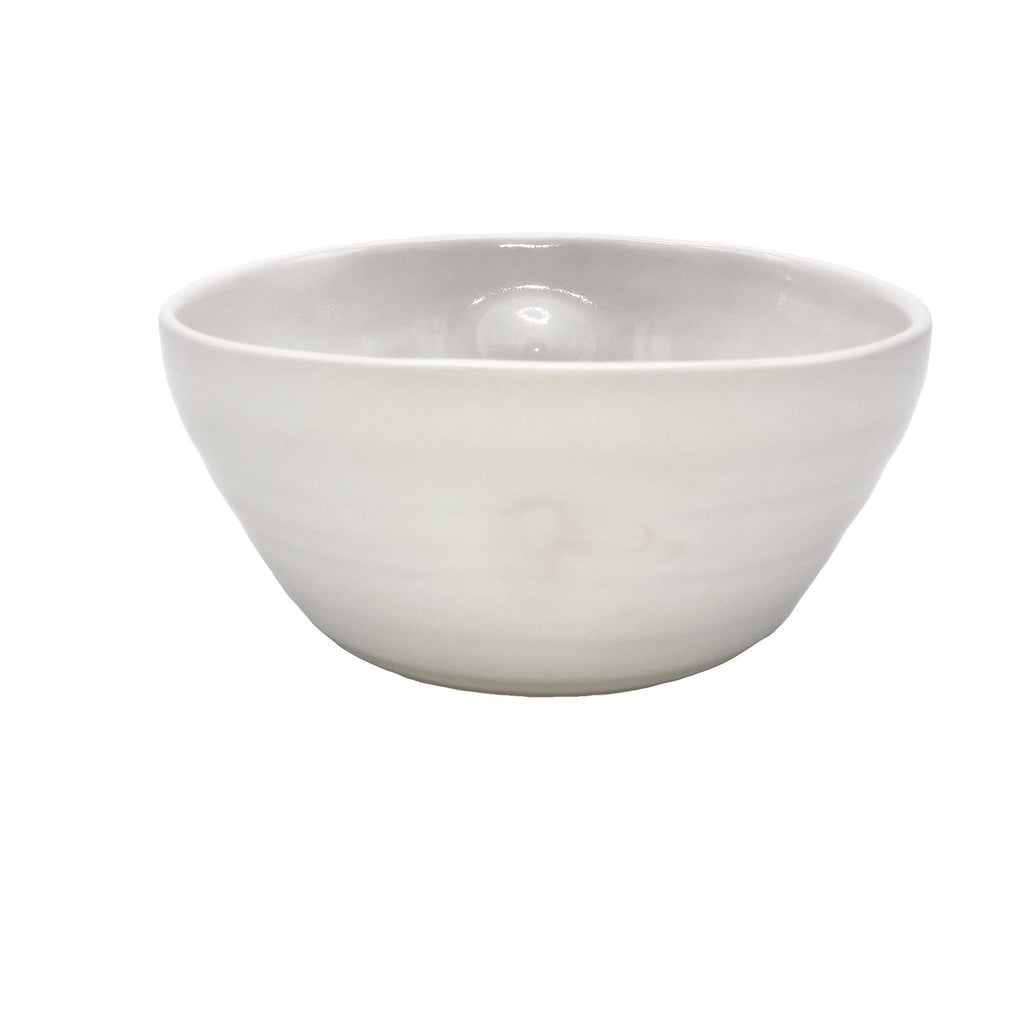 Pinch Cereal Bowl in White