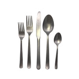 Oslo Cutlery Set in Tumbled Stainless Steel
