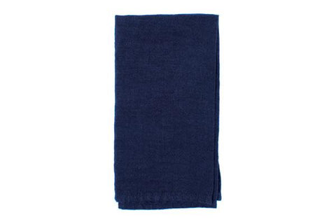 Vilnius Linen Napkin in Denim - Set of 4