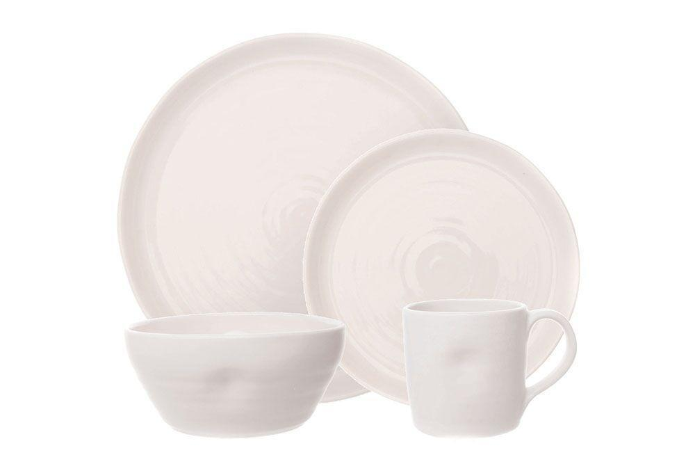 Pinch 4-piece place setting - White