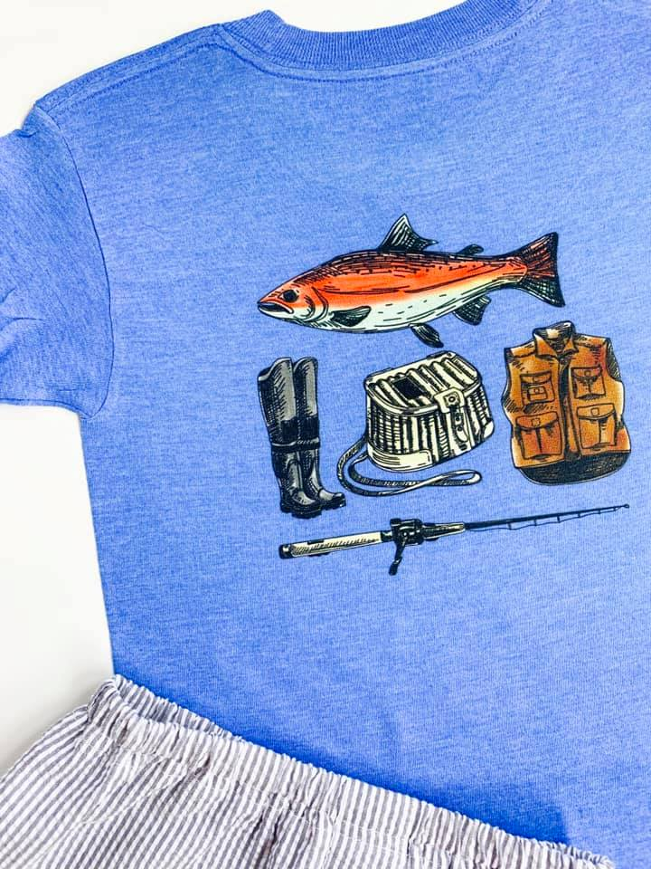 Boys Trout Tee