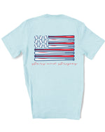 Stars and Stripes Baseball Tee | Kid's