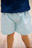 Boys Gingham Shorts