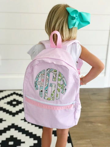 Appliquéd Backpacks