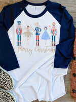 Nutcracker Raglan | Adult