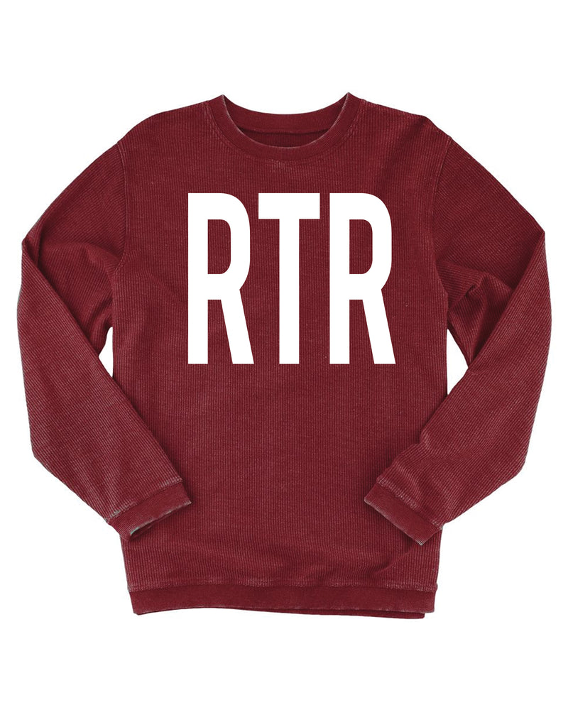 RTR Ladies Corded Pullover