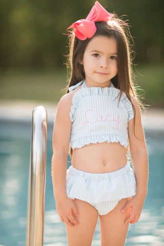Girls Two Piece Swimsuit