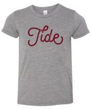 Tide Stamped Gameday Tee | Toddler + Youth