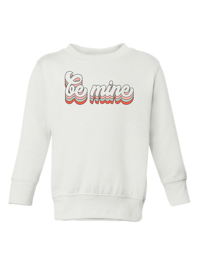 Be Mine Groovy | Pullover | Kids