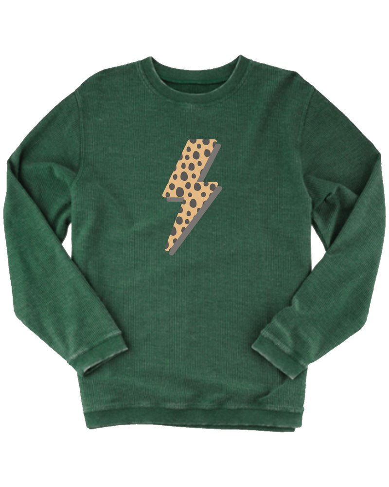 Cheetah Bolt Corded Pullover | Adult