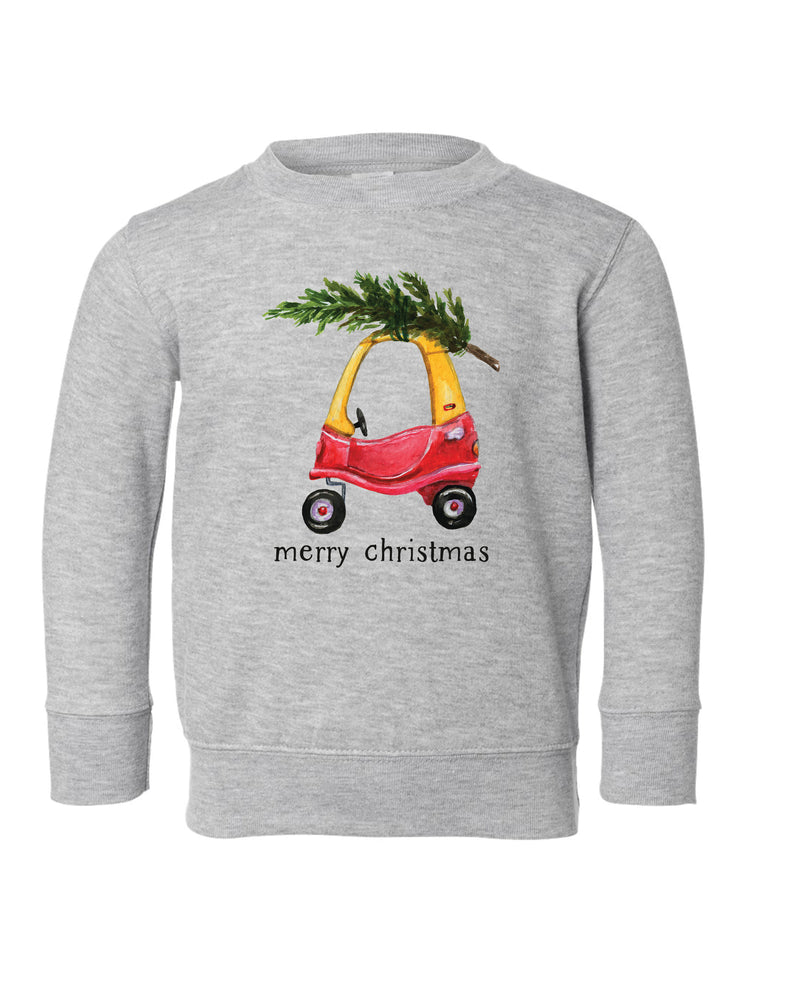 Christmas Cozy Coupe | Pullover | Kids
