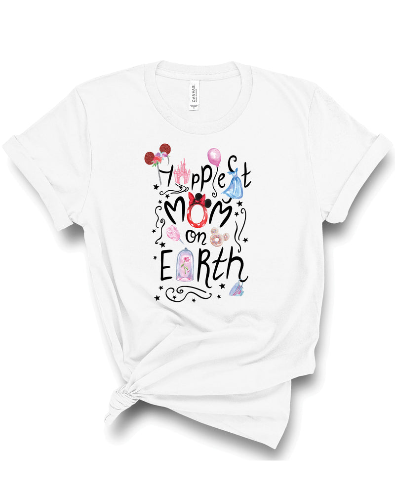 Happiest Mom on Earth Tee