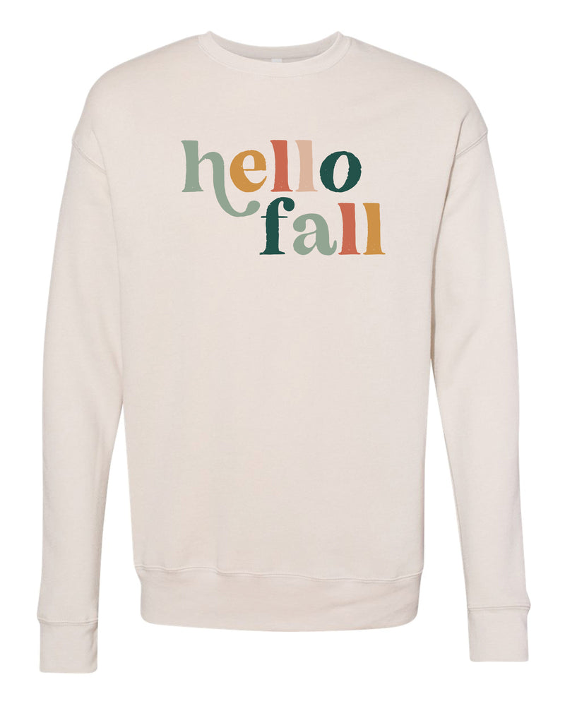 Hello Fall Pullover | Adult