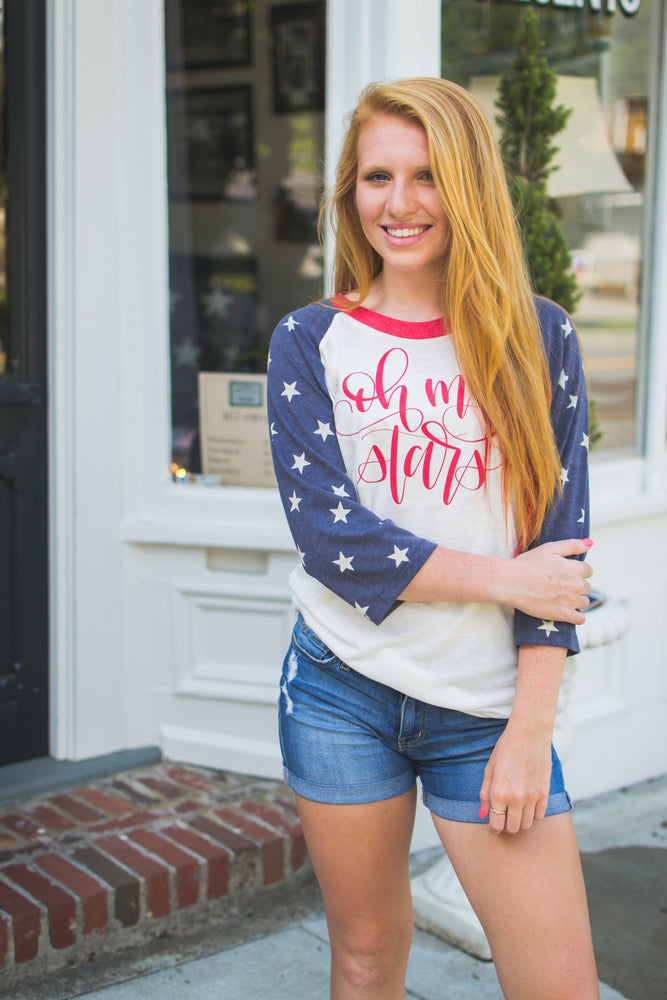 Star Spangled Raglan