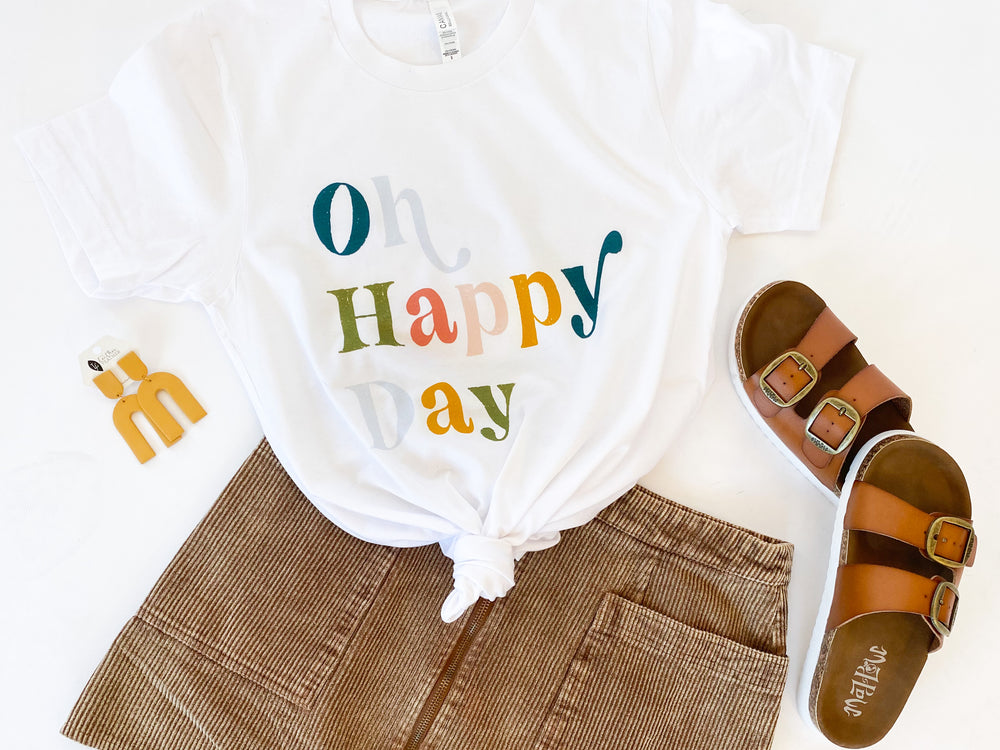Oh Happy Day Tee | Adult