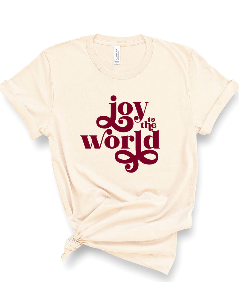 Joy To The World | Tee | Adult