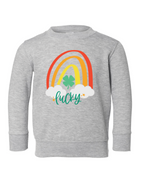 Rainbow Lucky Pullover | Kids