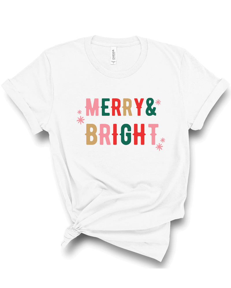 Merry + Bright | Tee | Adult