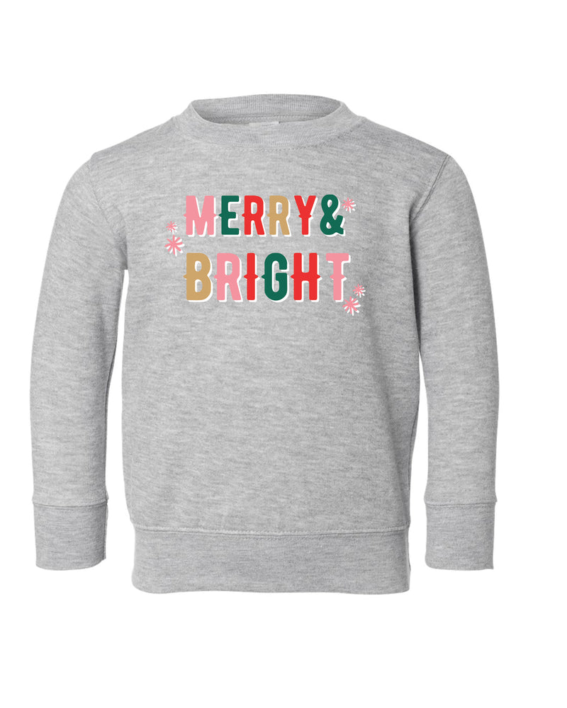 Merry + Bright | Pullover | Kids