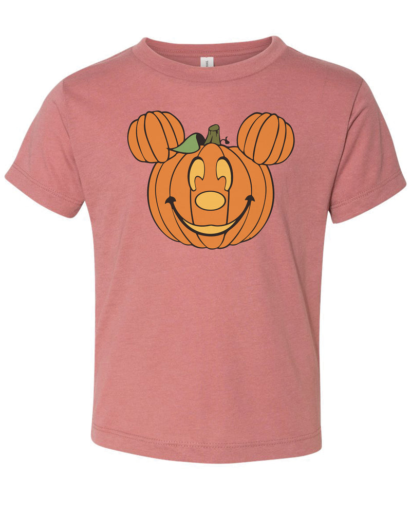Pumpkin Mickey Inspired Tee | Children's